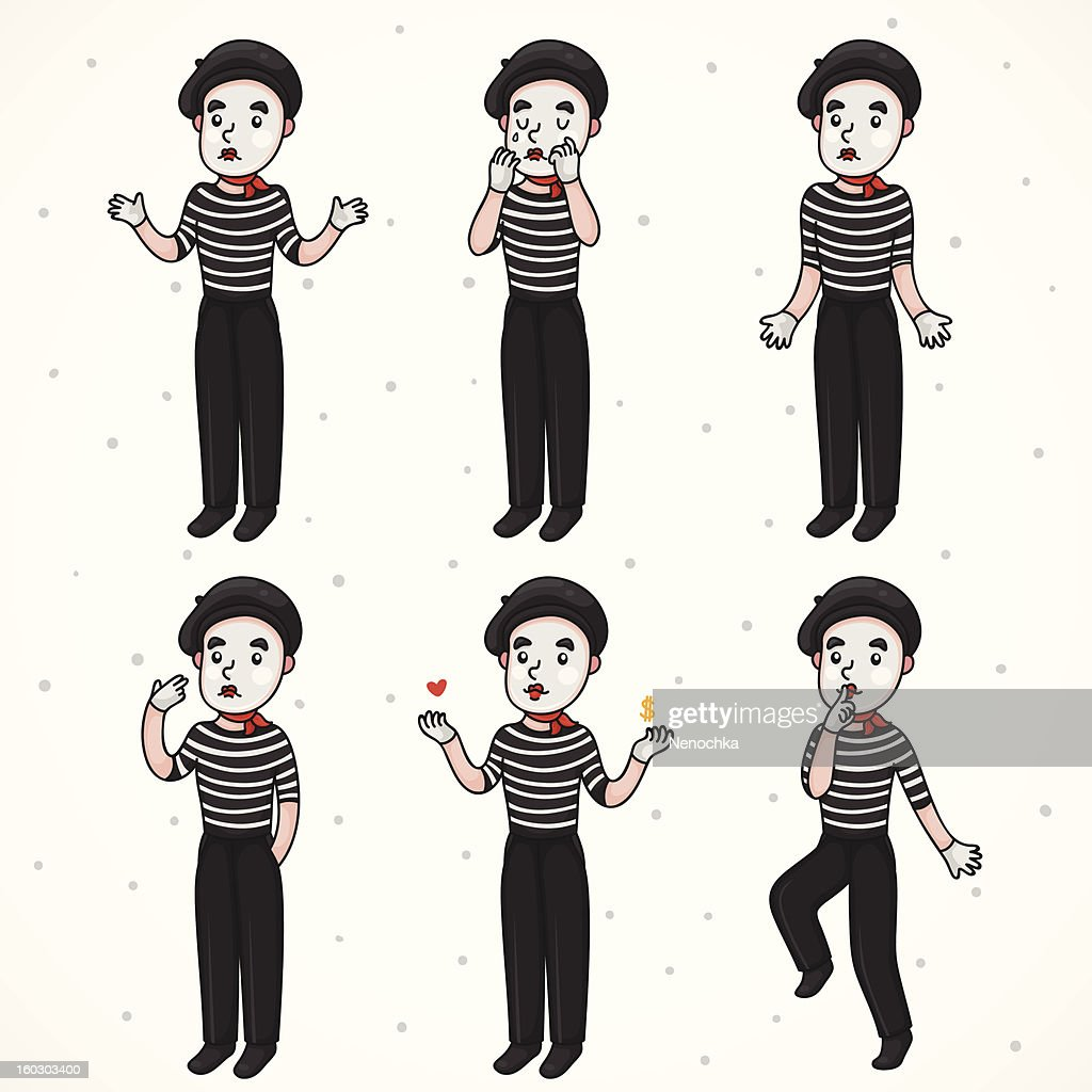 Mime sad collection