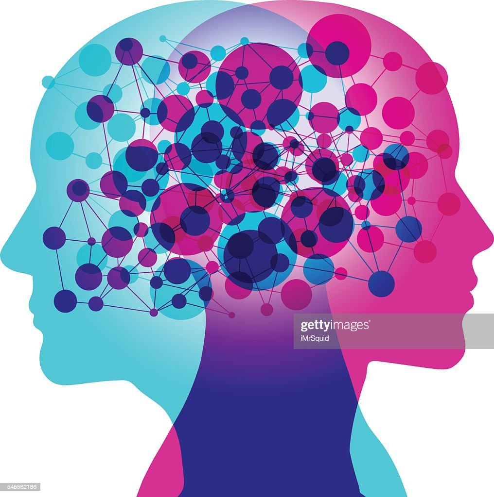 Mind Connection : stock illustration