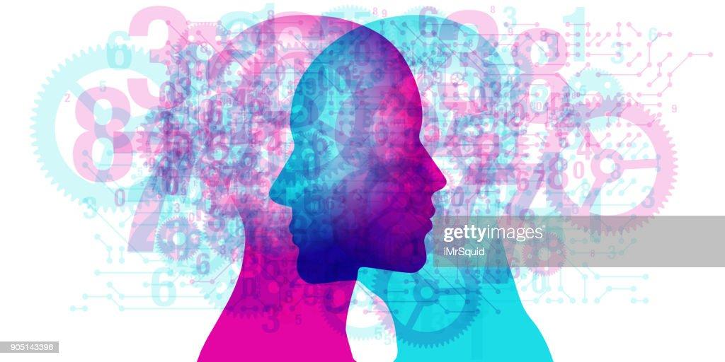 Mind Innovation - Specs : stock illustration