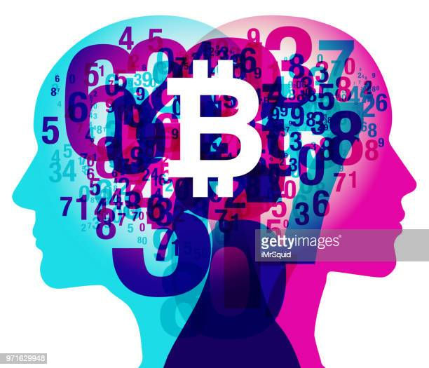 Mind Numbers - Bitcoin currency symbol