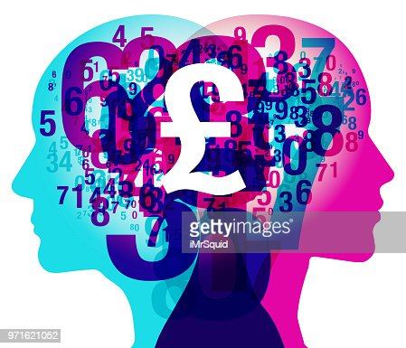 Mind Numbers British Pound Currency Symbol Vector Art Getty Images
