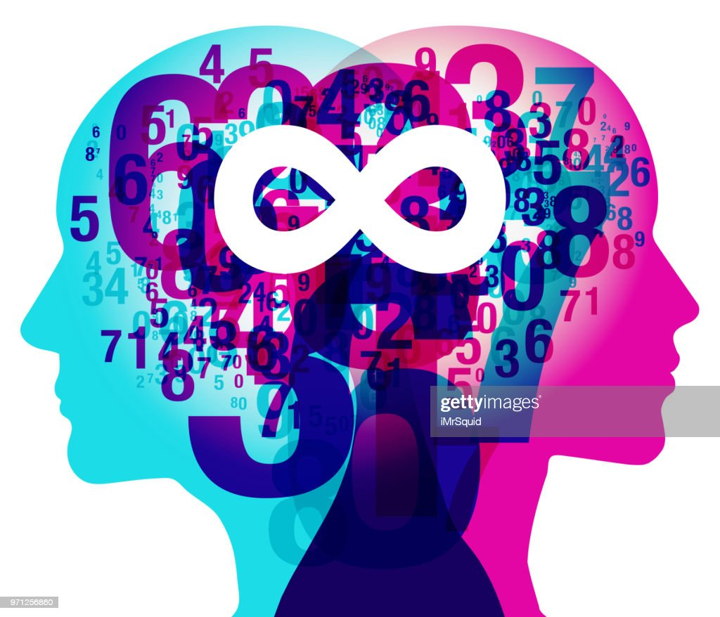 Mind Numbers Infinity Symbol Vector Art Getty Images
