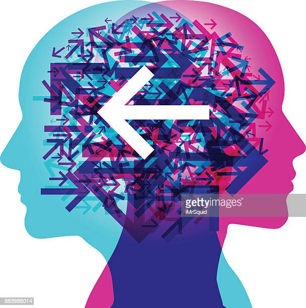 Minds Thinking Direction - Left