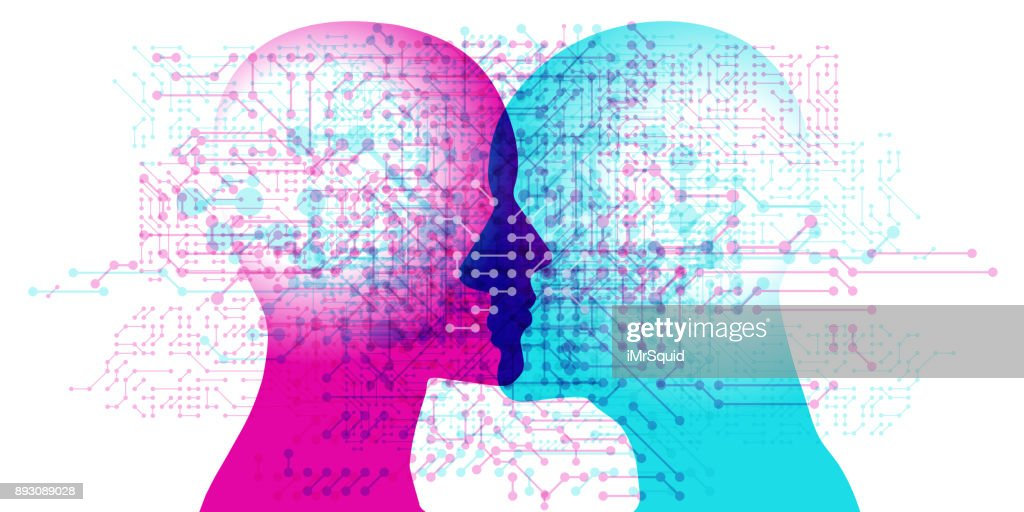 AI Minds : Stock Illustration