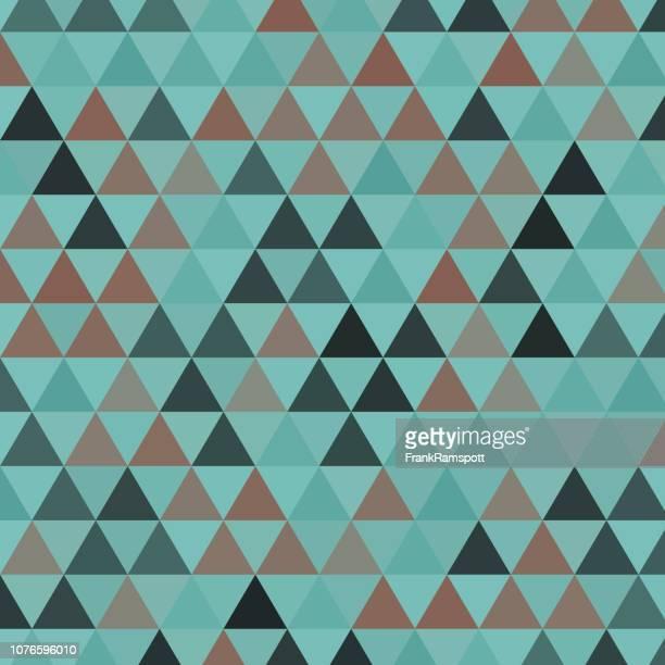 Mineralische gleichseitiges Dreieck Vektormuster