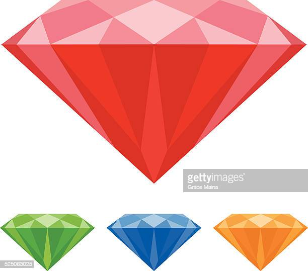 Mineral gemstones - VECTOR