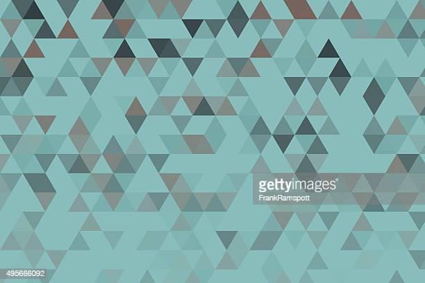 Mineral Dreieck Muster mit Farbverlauf