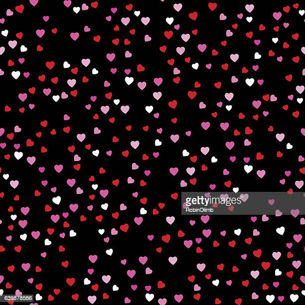Mini Hearts Seamless Pattern