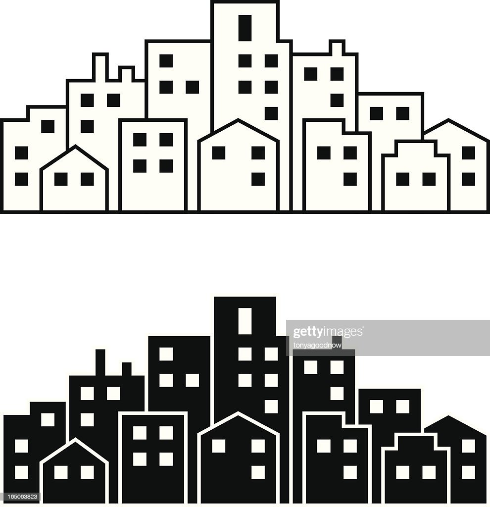 Mini Metropolis : stock illustration