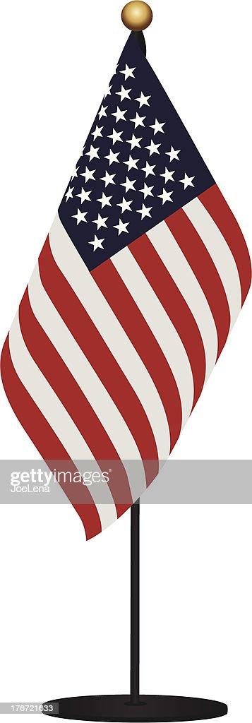 Miniature Flag of USA