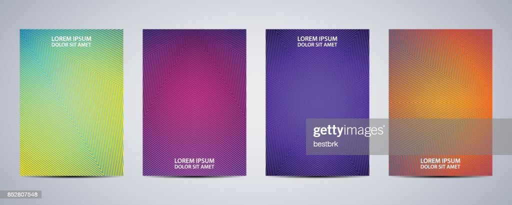 Minimal abstract covers design. Poster background. Vector illustration