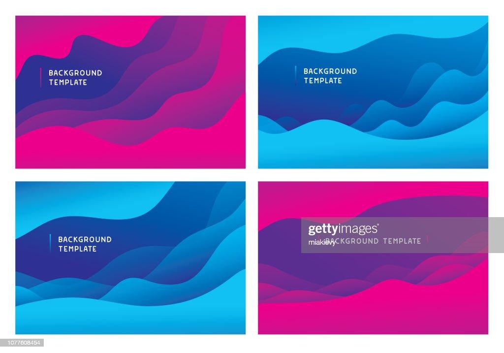 Modèles de fond minimal wave abstraite : Illustration