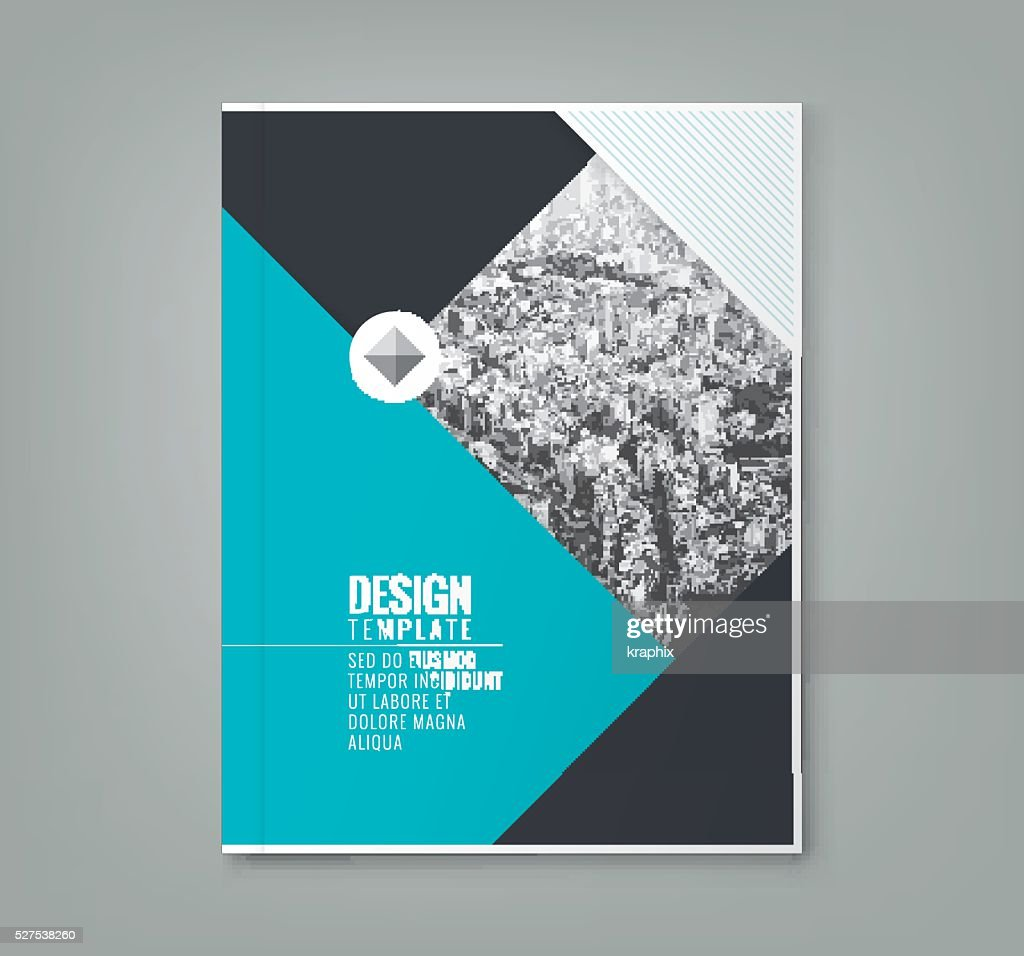 minimal blue color design layout template background