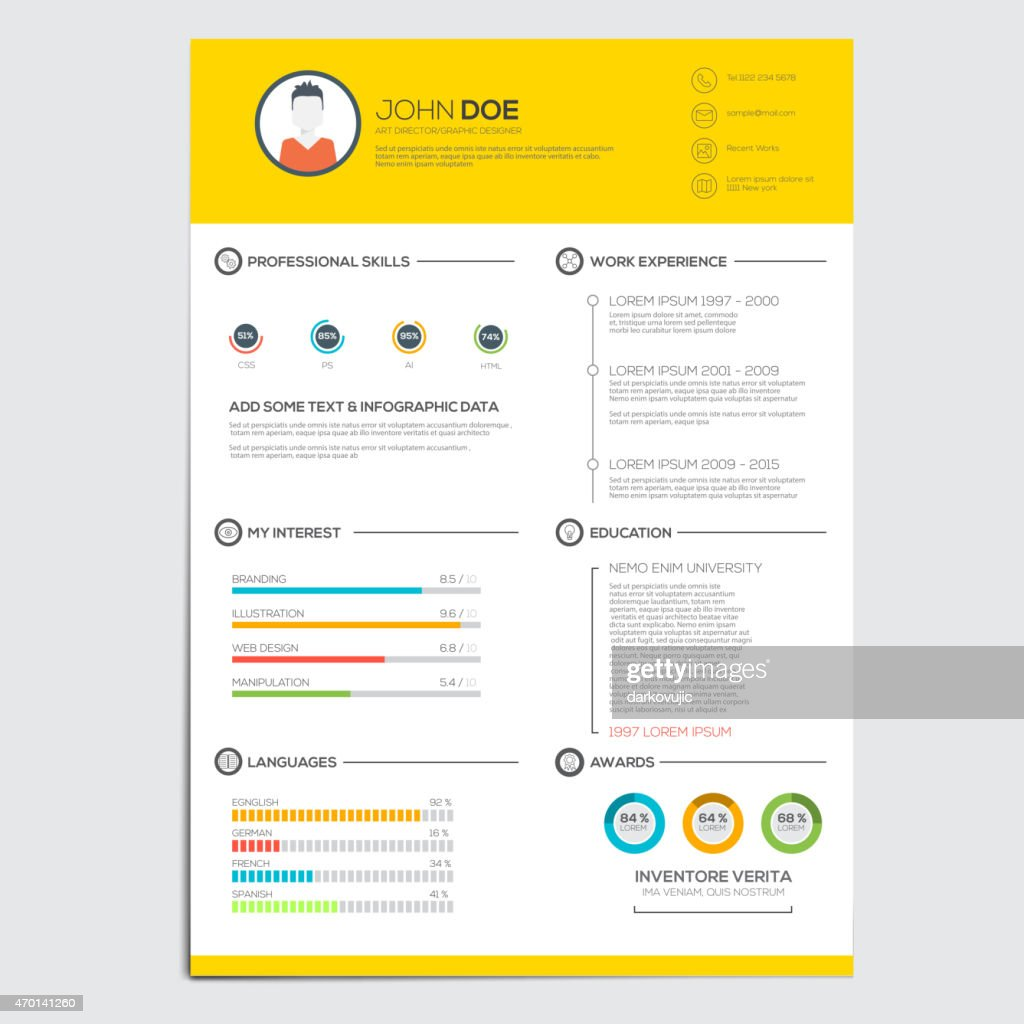 Minimal business infographics elements