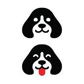 Minimal dog icon