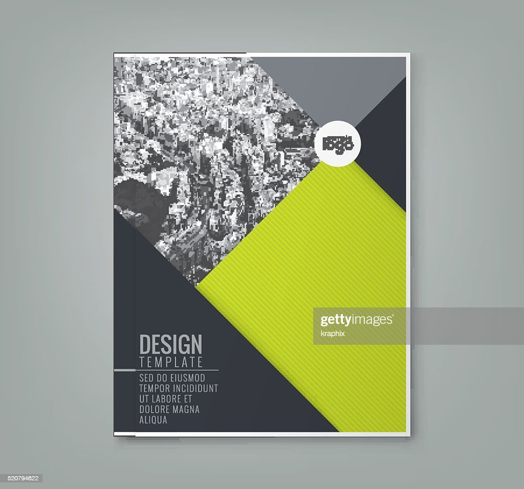 minimal green color design template background layout