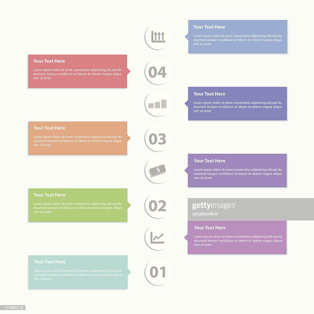 Minimal Infographic Template Design