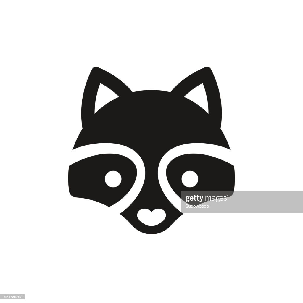 Minimal Raccoon icon