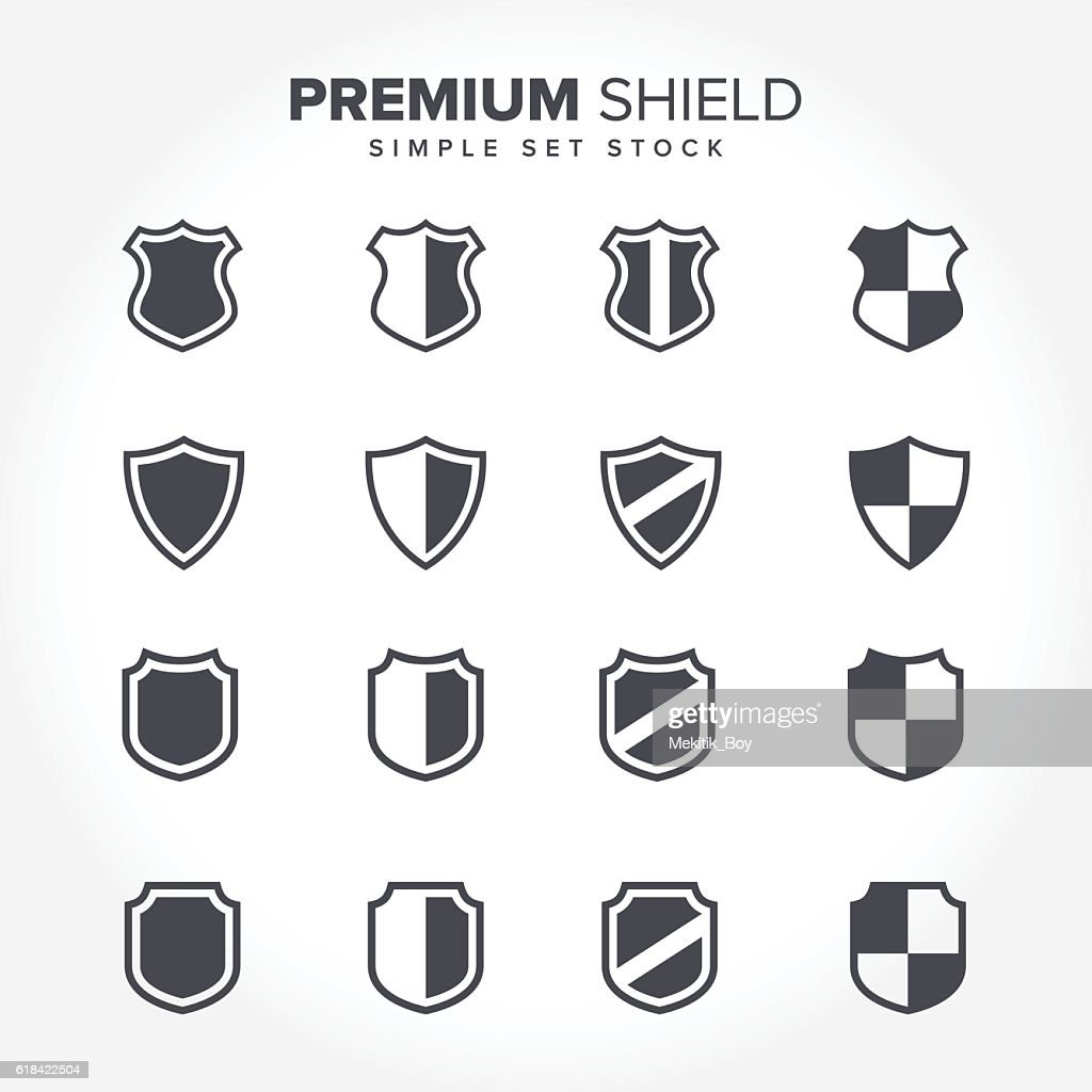 Minimal Shield Icon Collections