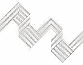 Minimalism geometric line pattern background