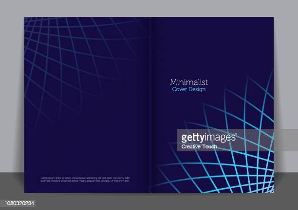 minimalistische cover-design - jährliches ereignis stock-grafiken, -clipart, -cartoons und -symbole