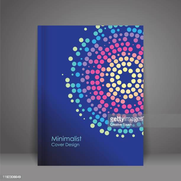 minimalist cover design - covering stock illustrations