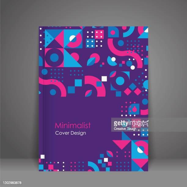ミニマリストカバーデザイン - 覆う点のイラスト素材/クリップアート素材/マンガ素材/アイコン素材