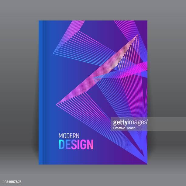 minimalistisches cover-design - jährliches ereignis stock-grafiken, -clipart, -cartoons und -symbole