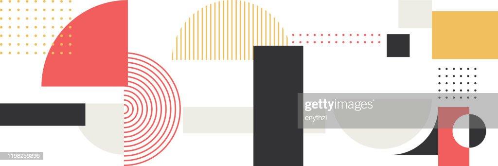Minimalistische Geometrie abstrakte Vektor Muster Design : Stock-Illustration