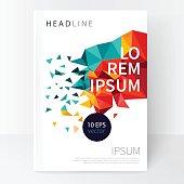 Minimalistic White cover Brochure design.