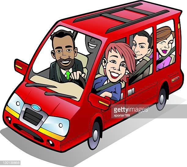 Minivan Carpool!