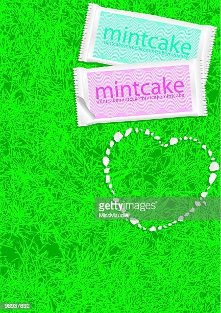 ミントケーキ愛の中心