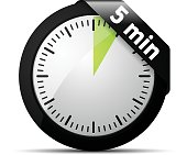 5 Minutes Time illustration
