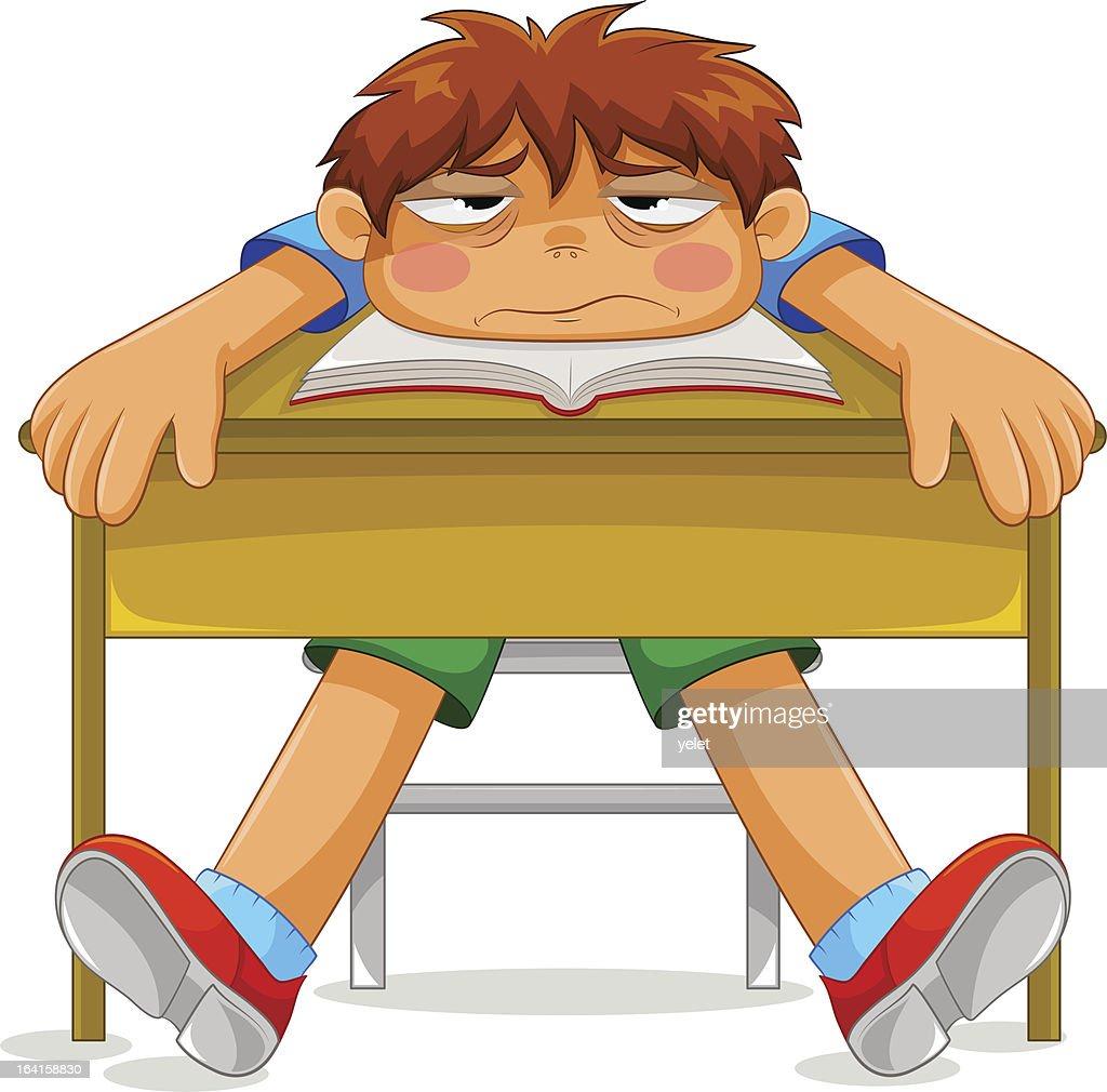 miserable student