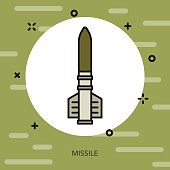 Missile Military Icon