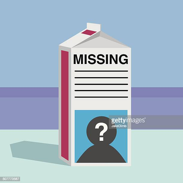 Missing Person Milk Carton