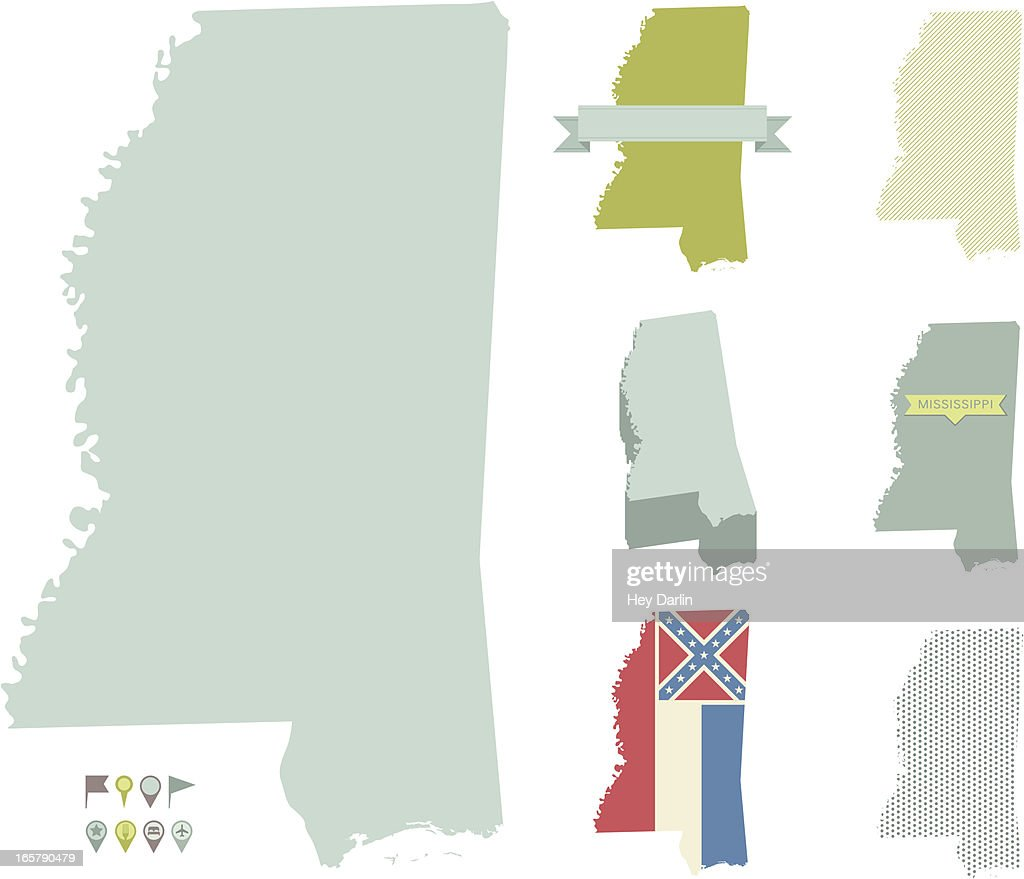 Mississippi State Maps