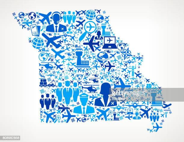 Missouri Aviation and Air Planes Vector Graphic