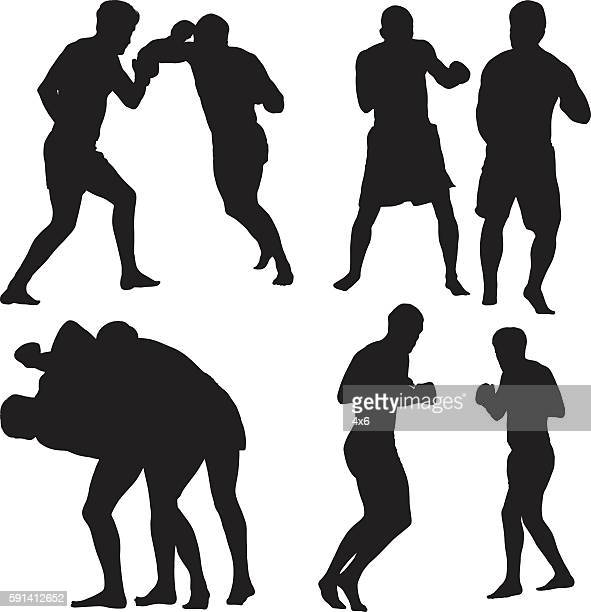 Mixed martial arts boxer boxing