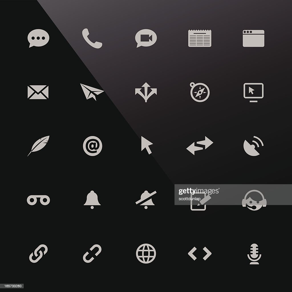 Mobi Icons | Communication