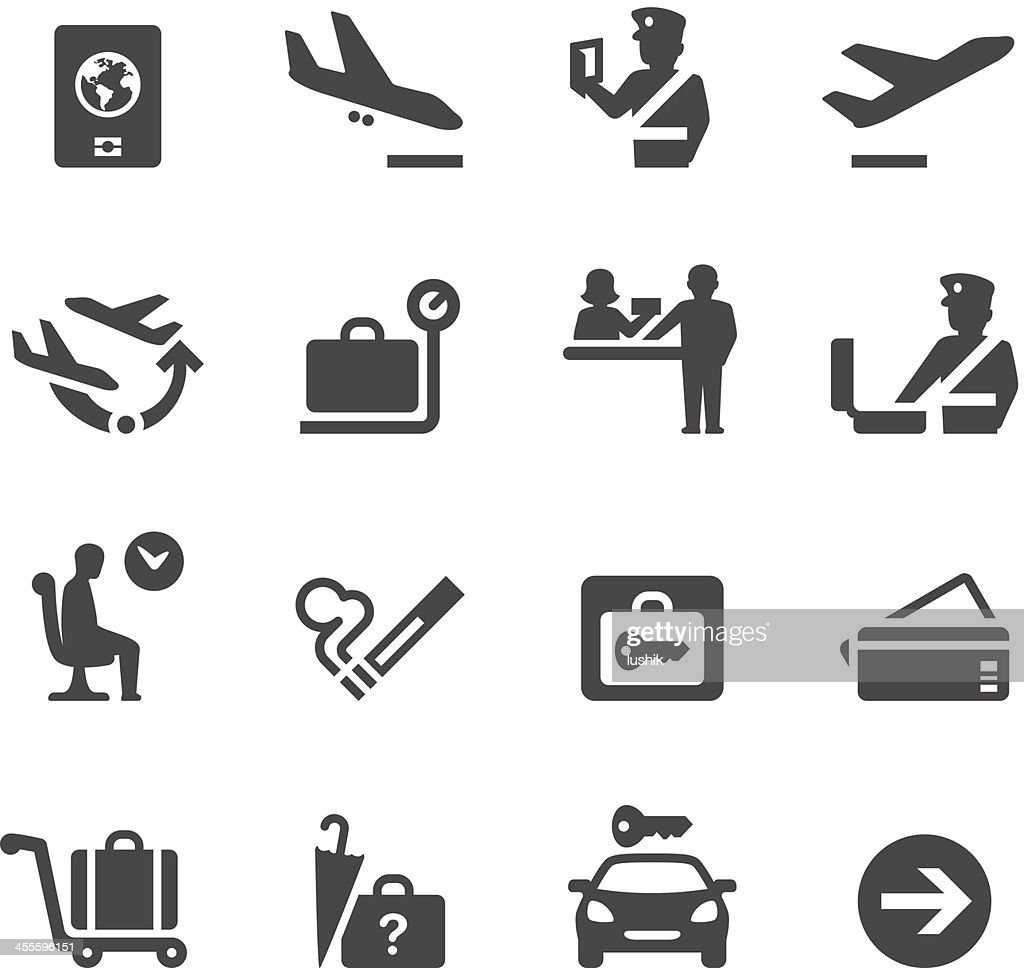 Mobico icons — Airport