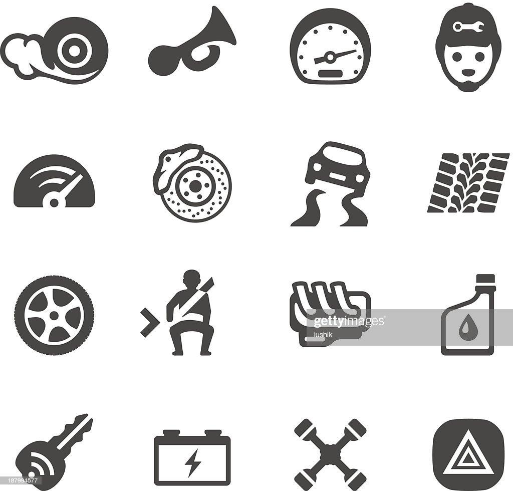 Mobico icons - Auto parts : stock illustration
