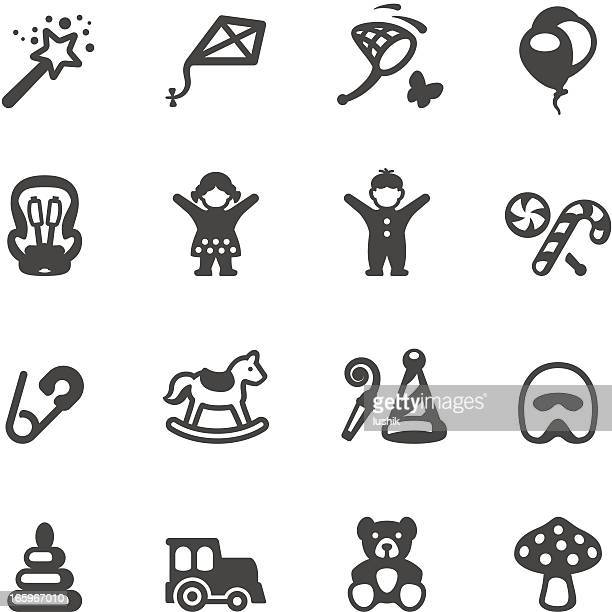 Mobico icons - Children and Childhood