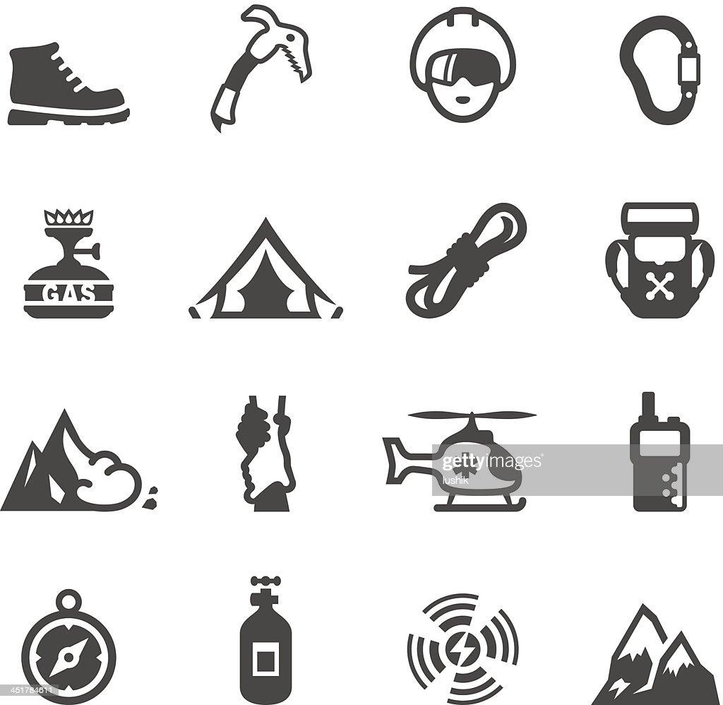Mobico icons - Climbing