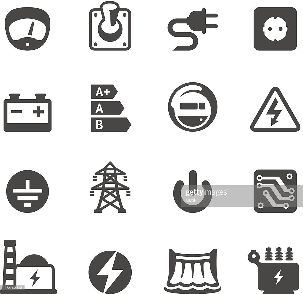 Mobico icons - Electricity