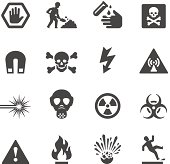 Mobico icons - Hazard and Warning