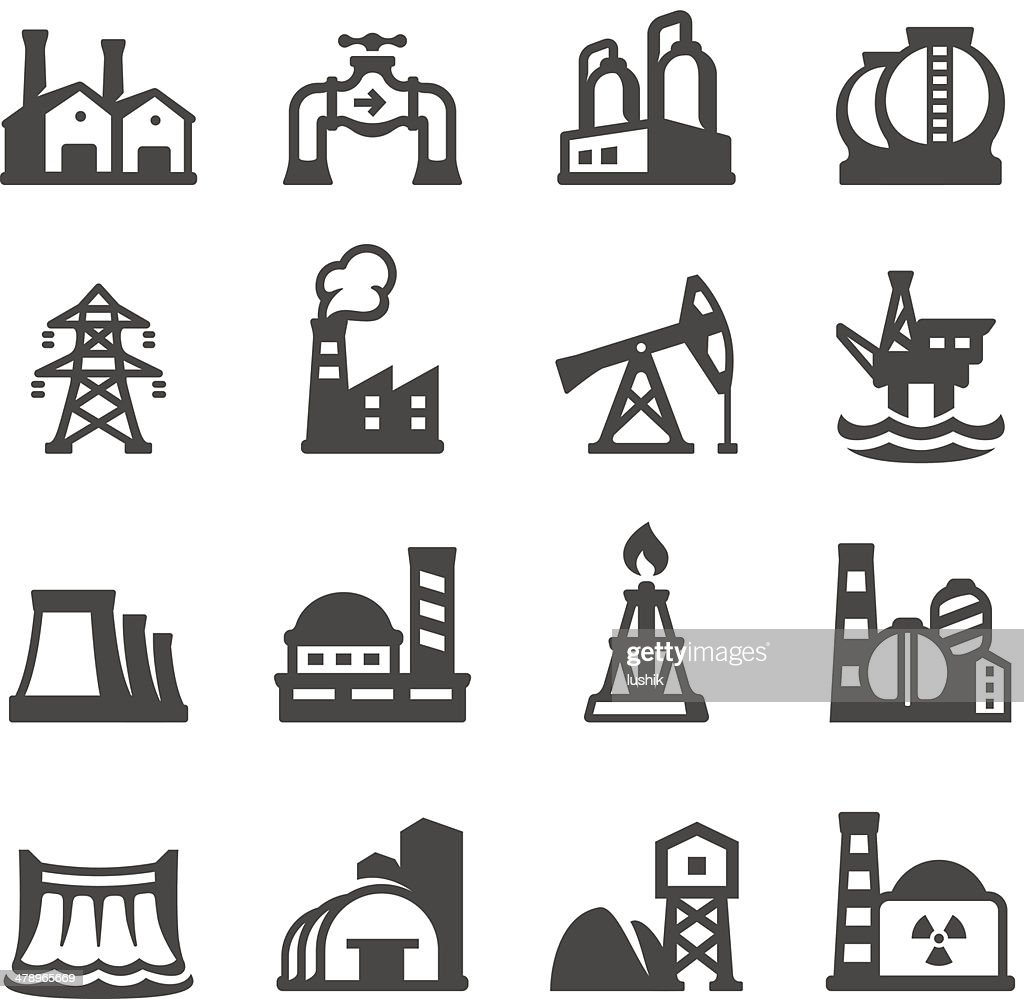 Mobico icons - Industrial Building