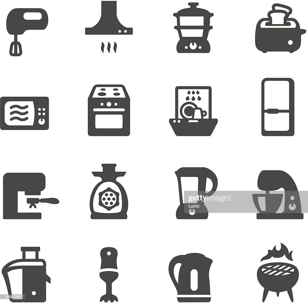 Mobico icons - Kitchen appliances