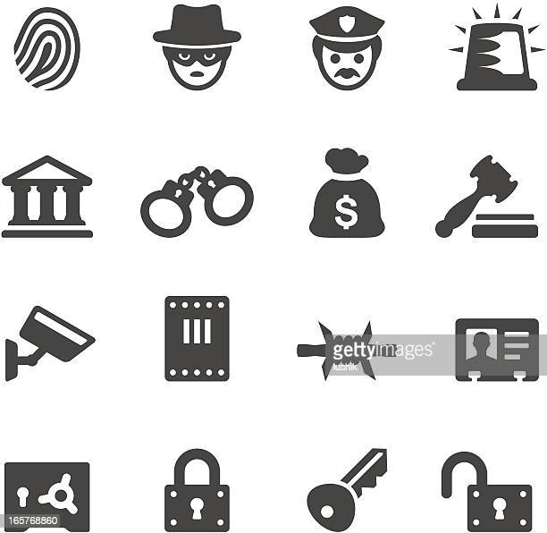 Mobico icons — Law Enforcement and Crime