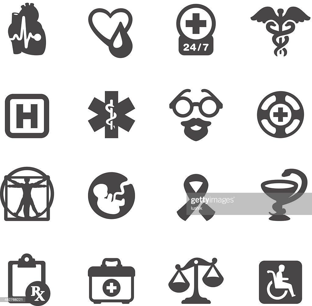 Mobico icons - Medical Symbols : stock illustration